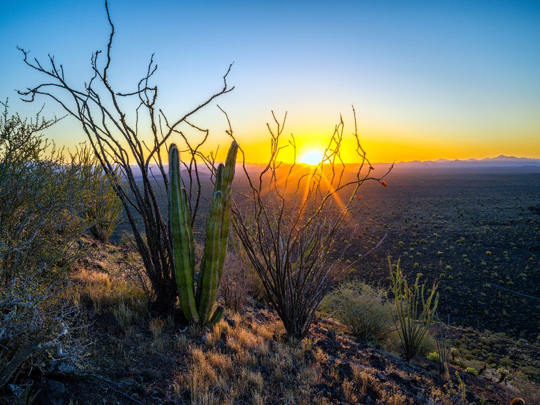Pinacate Sunrise