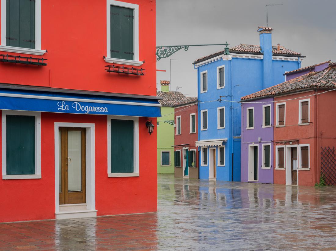 Burano rainy Day