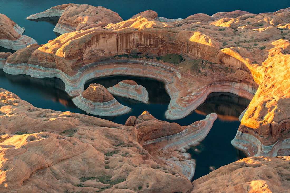 Reflection Canyon aerial 2