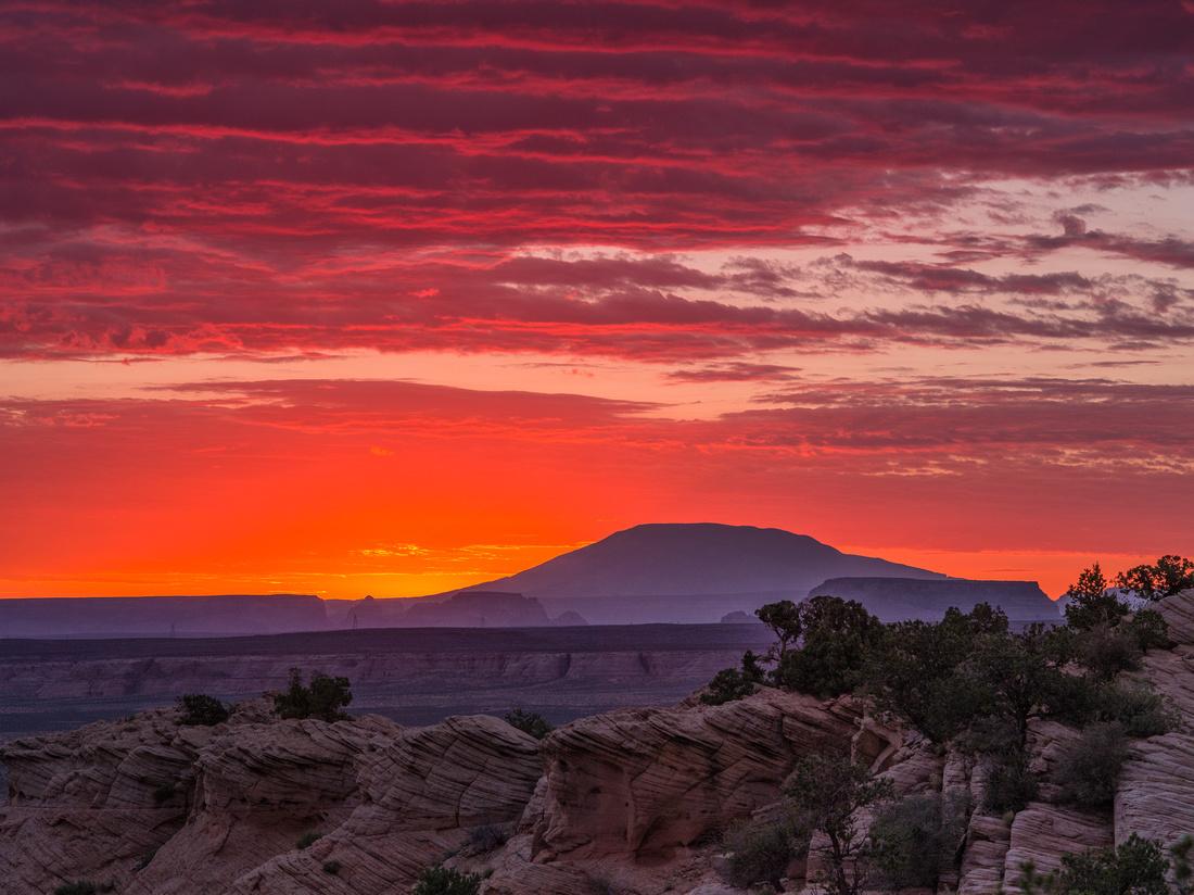 Navajo Mountain pre-dawn